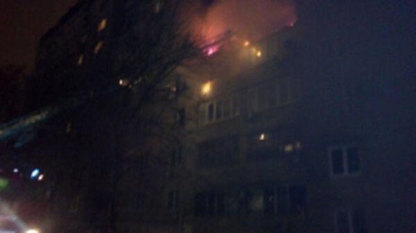 Пожар в результате взрыва газо-воздушной смеси в Ростове-на-Дону. 17 января 2018