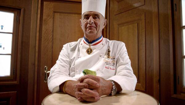 Французский шеф-повар Поль Бокюз. Архивное фото