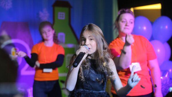 Финалистка проекта Голос. Дети Мария Панюкова. Архивное фото