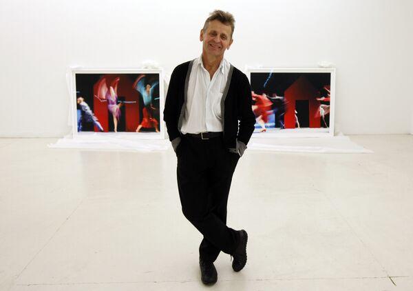 Михаил Барышников на фотовыставке Dance This Way в Майами, 2012 год.