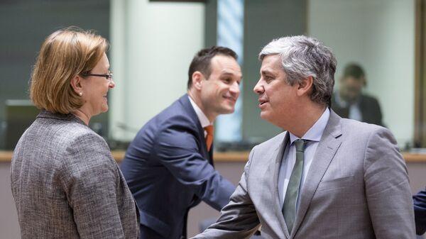 Председатель Еврогруппы Марио Сентено. Архивное фото