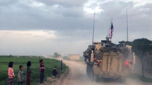 Американская военная техника в Сирии