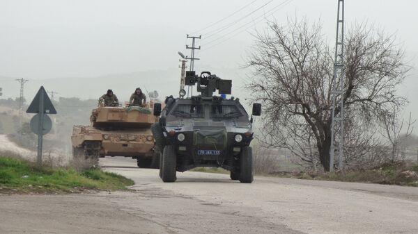 Турецкая военная техника, используемая в операции в Африне