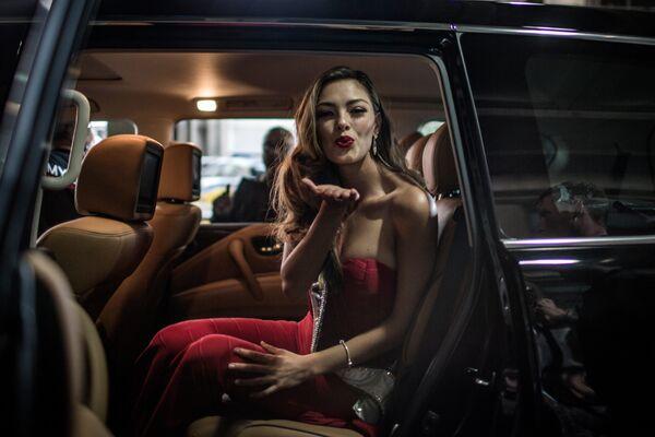 Победительница международного конкурса красоты Мисс Вселенная 2017 Деми-Ли Нель-Питерс