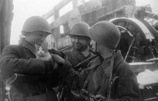 Мирные воспоминания. Сталинград, 1943 год