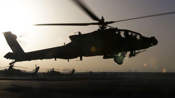 Вертолет ВВС США в Эрбиле, Ирак
