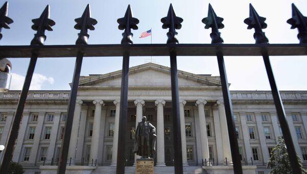 Здание Министерства финансов США в Вашингтоне. Архивное фото