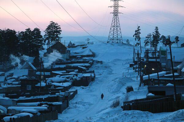 Деревня возле Лысой горы в Улан-Удэ
