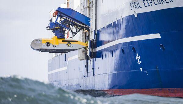 Обследование дна Балтийского моря в рамках проекта Северный поток-2