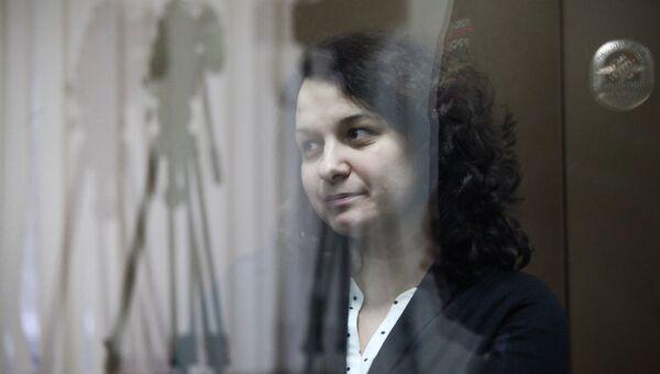 Врач-гематолог Елена Мисюрина в Мосгорсуде. Архивное фото
