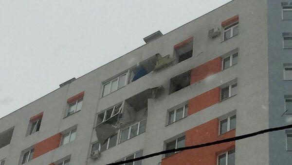 Последствия взрыва газового баллона в 17-этажном жилом доме, Самара. 5 февраля 2018