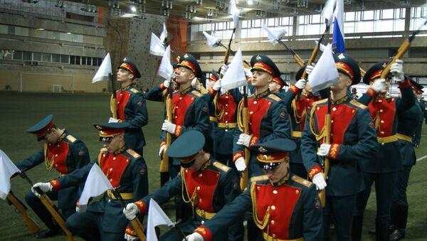Первый тур смотра-конкурса военных оркестров Вооруженных Сил Российской Федерации