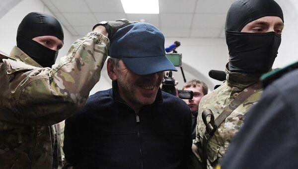 Абдусамад Гамидов в Басманном суде Москвы. 6 февраля 2018