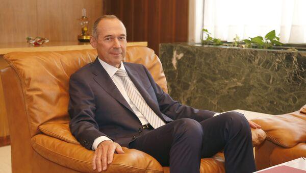 Посол РФ в Греции Андрей Маслов. Архивное фото