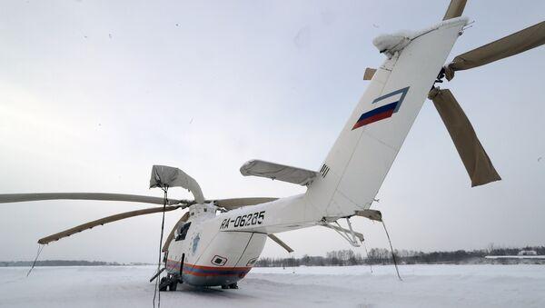 Вертолет Ми-26 Московского авиационного центра. Архивное фото