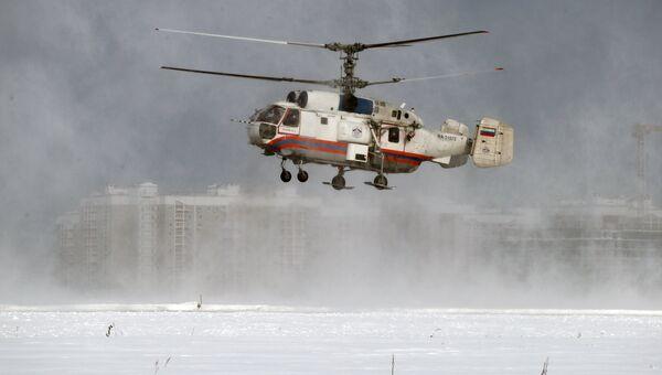 Вертолет Ка-32А Московского авиационного центра