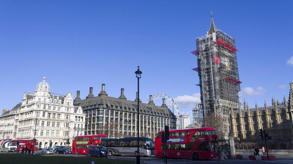 Башня Вестминстерского дворца в Лондоне. Архивное фото