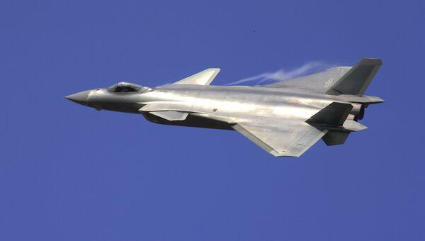 Китайский истребитель J-20. Архивное фото