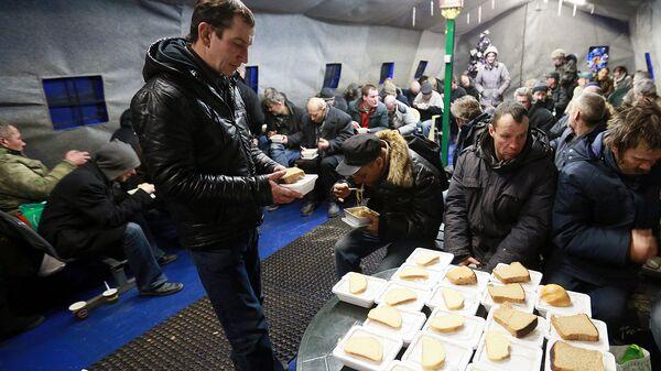 Работа православной службы Милосердие