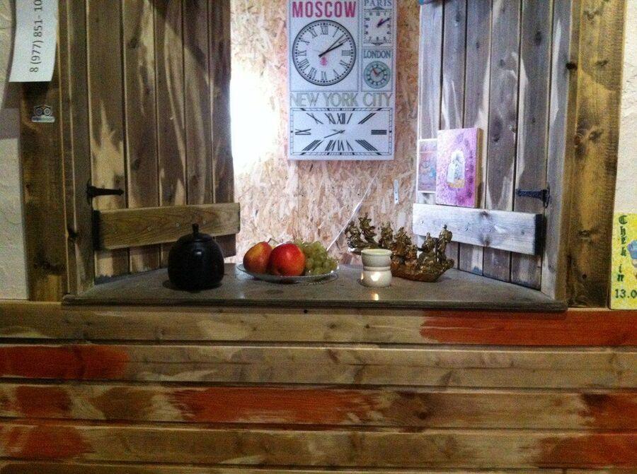 Кухня гостевого дома Хорошие Новости