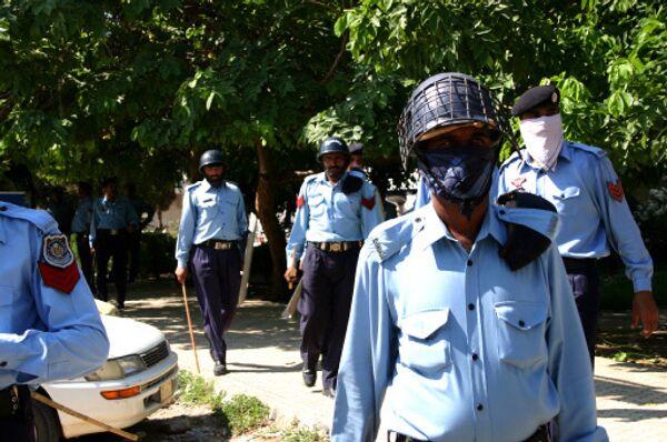 Полицейские Пакистана. Архивное фото