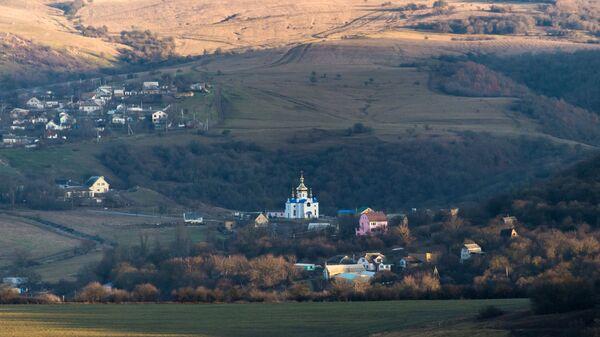 Село Партизанское в Крыму. Архивное фото