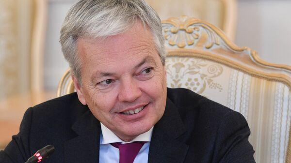Министр иностранных и европейских дел Королевства Бельгия Дидье Рейндерс
