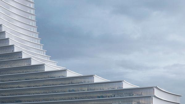 Визуализация проекта 230-метрового небоскреба в Гамбурге