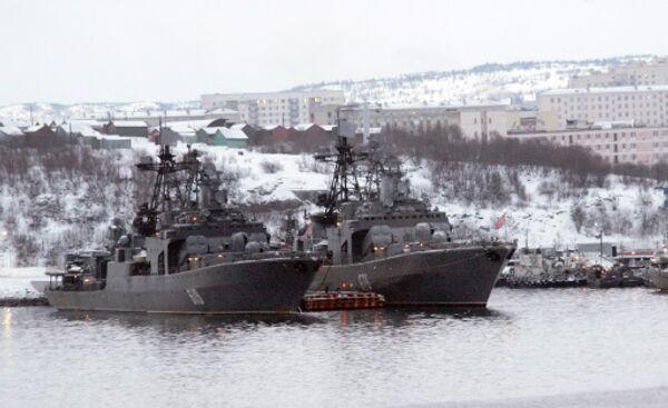 Корабли Северного флота России