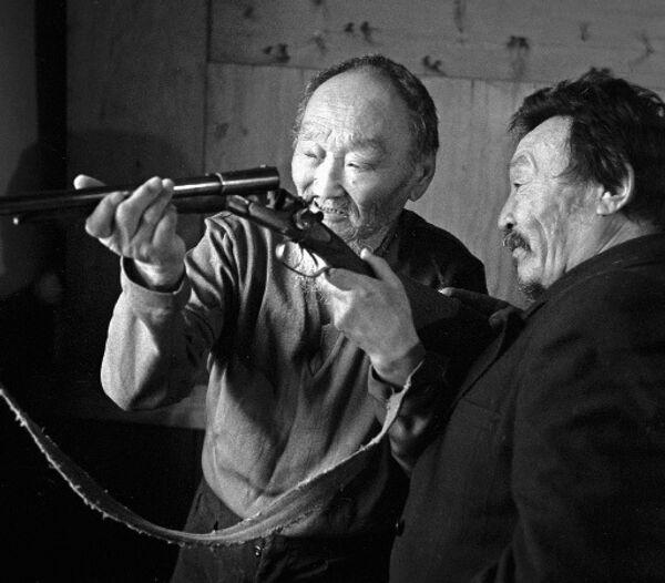Якутские охотники. Архив