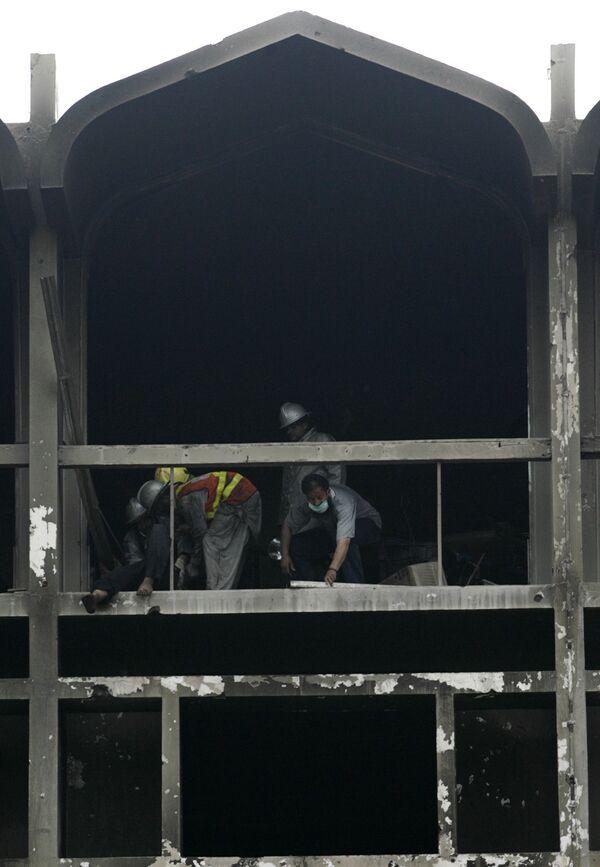 Взрыв в отеле Марриот в Исламабаде