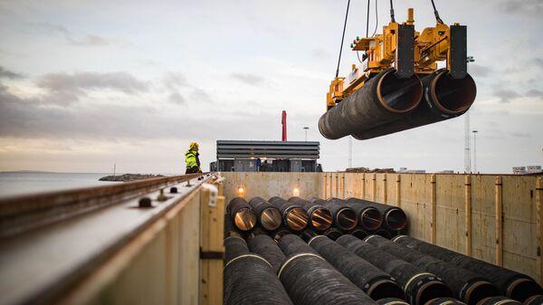 Трубы для строительства газопровода Северный поток — 2