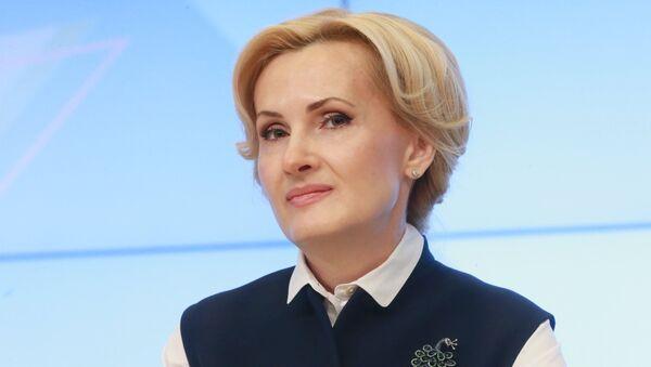Заместитель председателя Государственной Думы РФ Ирина Яровая. 20 февраля 2018