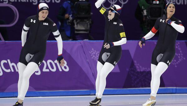 Форма конькобежцев из США