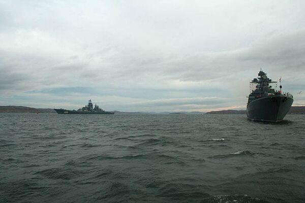 Корабли Северного флота вышли в море для участия в учениях. Архив