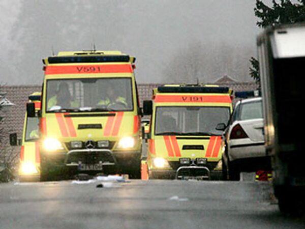 Автомобили финской скорой помощи