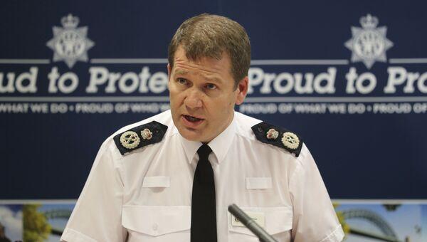 Начальник полиции Нортумбрии Стив Эшман во время пресс-конференции, посвященной расследованию преступлений на сексуальной почве в Ньюкасле, Великобритания. Архивное фото