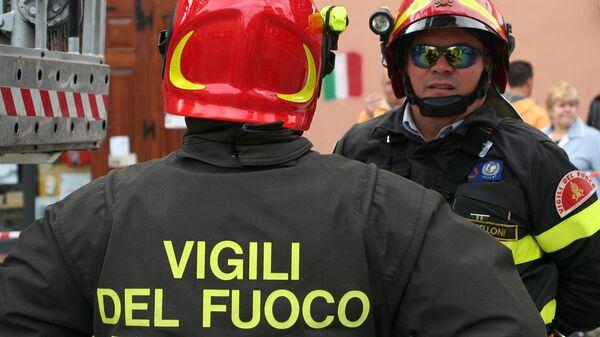Пожарные в Италии