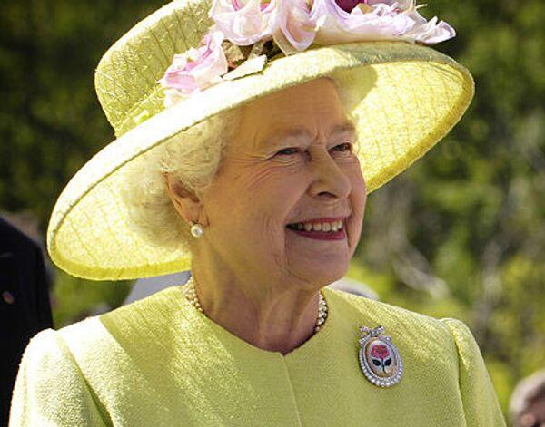 Королева Великобритании Елизавета Вторая. Архив