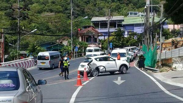 Туристы попавшие в дтп в тайланде