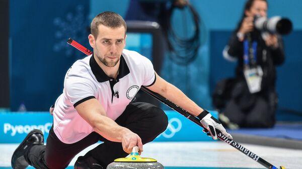 Олимпийский спортсмен из России Александр Крушельницкий