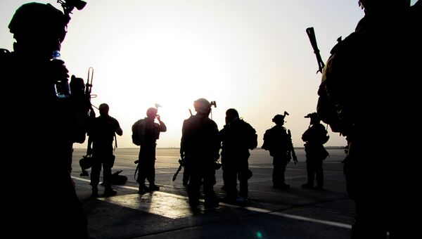 Солдаты спецназа США. Архивное фото