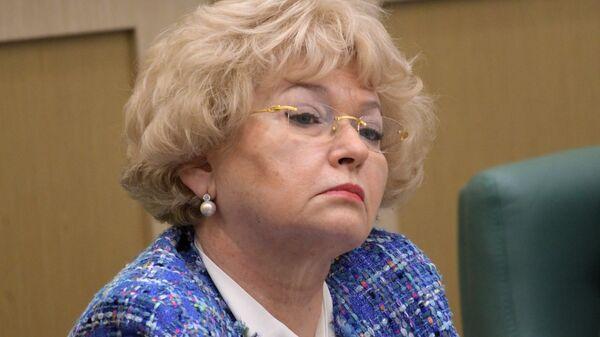 Член комитета Совета Федерации РФ по конституционному законодательству и государственному строительству Людмила Нарусова