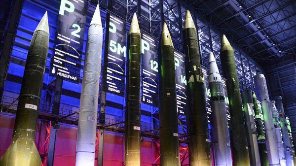 Павильон ракетной техники в военной академии РВСН. Архивное фото