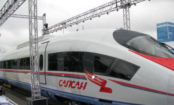 Новый поезд в Берлине