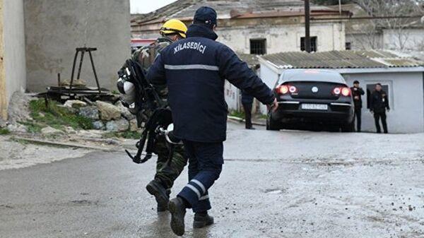 Пожар в наркодиспансере в Баку. 2 марта 2018