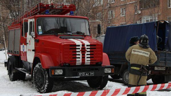 Сотрудники пожарной охраны на Украине