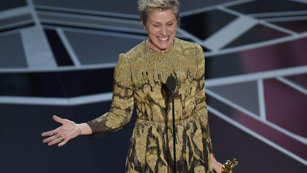 Фрэнсис Макдорманд получает Оскар. 05.03.18