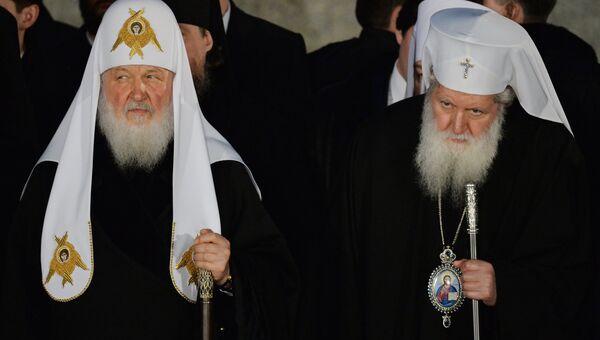 Визит патриарха Кирилла в Болгарию. День второй