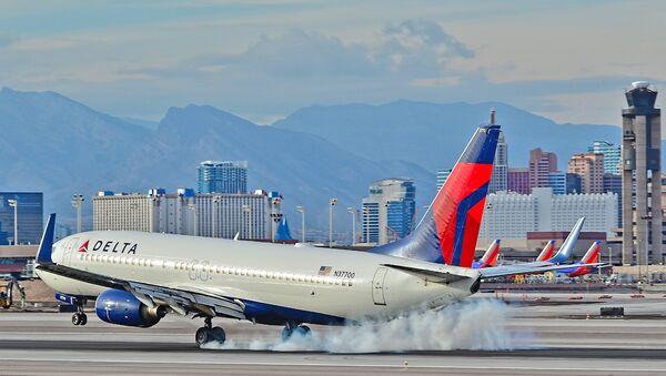 Самолет компании Delta Air Lines. Архивное фото